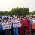 اعتصاب کارگران پیمانی مصداق ترک کار است